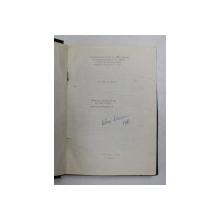 TEHNOLOGIA ELABORARII SI TURNARII FONTEI - PENTRU SUBINIGINERI de I. RIPOSAN , 1980 , EXEMPLAR XEROXAT *