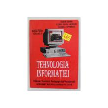 TEHNOLOGIA INFORMATIEI , MANUAL PENTRU CLASA A IX -A de TUDOR SORIN ...DANIELA OPRESCU , ANII ' 90