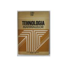 TEHNOLOGIA MATERIALELOR - PENTRU SUBINGINERI de M. VOICU ...R. IOVA  , 1981
