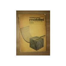 TEHNOLOGIA MOBILEI STUDIUL MATERIALELOR , CROIREA ( manual pentru scoli profesionale , anul I ) de PORTASE C. , Bucuresti 1972