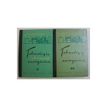 TEHNOLOGIE CHIMICA ANORGANICA VOL. I - II de KARL WINNACKER , LEOPOLD KUCHLER , 1962