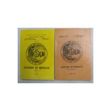 TEHNOLOGII ACTUALE SI DE PERSPECTIVA - SESIUNE DE COMUNICARI , VOLUMELE I - II , 1980 - 1981