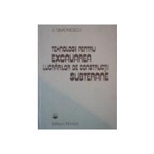 TEHNOLOGII PENTRU EXCAVAREA LUCRARILOR DE CONSTRUCTII SUBTERANE de ALEXANDRU SIMIONESCU  1985