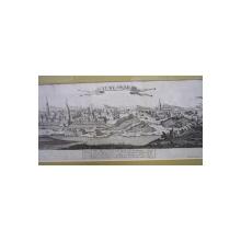 TEMESWAR ,  GABRIEL BODENEHR,  GRAVURA A TIMISOAREI  1720