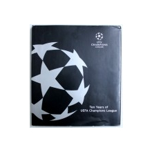 TEN YEARS OF UEFA CHAMPIONS LEAGUE , 1992 - 2002 , editor FRITS AHLSTRAM , 2002