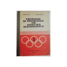 TEOREME SI PROBLEME DE ANALIZA MATEMATICA de SORIN RADULESCU si MARIUS RADULESCU , 1982