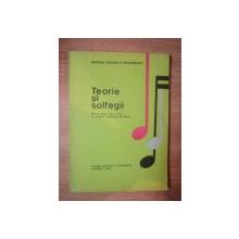 TEORIE SI SOLFEGII  , MANUAL PENTRU CLASA A II-A CU PROGRAM SUPLIMENTAR DE MUZICA , 1993