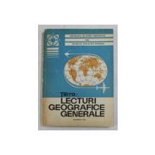 TERRA - LECTURI GEOGRAFICE GENERALE , 1975