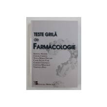 TESTE GRILA DE FARMACOLOGIE de SIMONA NEGRES ...VERONICA BLID , 2020