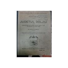 TEXT ATLAS JUDETUL DOLJ  - N. DINCULESCU   -1897