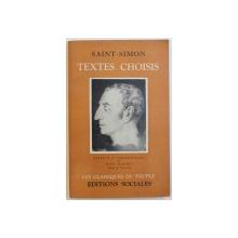 TEXTES CHOISIS par SAINT - SIMON , 1951