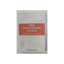 THE  ALICE MUNRO PAPERS SECOND ACCESION , compiler JEAN M. MOORE , 1987