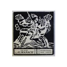 THE ALTAR ALMANACH 1970 , ILUSTRATII de TIBERIU NICORESCU