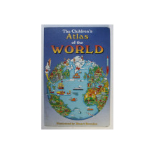 THE CHILDREN ' S ATLAS OF THE WORLD , illustrated by STUART BRENDON , 1993