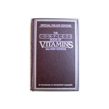 THE COMPLETE BOOK OF VITAMINS  - ALL - NEW EDITION , by  the editors of PREVENTION magazine , 1984
