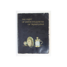 THE CRAFT OF SAXON GOLDSMITHS OF TRANSYLVANIA byL JULIUS BIELZ , 1957