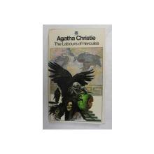 THE  LABOURS OF HERCULES by AGATHA CHRISTIE , 1977 , COPERTELE INTARITE CU BANDA ADEZIVA