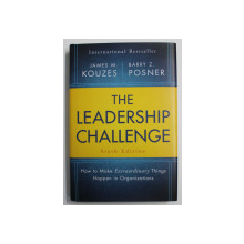THE LEADERASHIP CHALLENGE by JAMES M. KOUZES and BARRY Z. POSNER , 2017