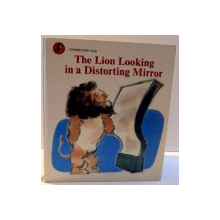 THE LION LOOKING IN A DISTORTING MIRROR , ILLUSTRATED by ZHANG YIHAO