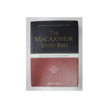 THE MACARTHUR STUDY BIBLE - NEW AMERICAN STANDARD BIBLE , 2013