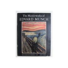 THE MASTERWORKS of EDVARD MUNCH  by ARNE EGGUM and JOHN ELDERFIELD , 1979