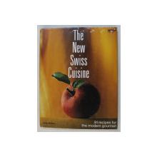 THE NEW SWISS CUISINE  - 91 RECIPES FOR THE MODERN GOURMET par PETER BUHRER , 1991