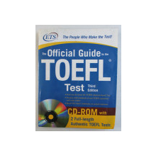 THE OFFICIAL GUIDE TO THE TOEFL - TEST , 2009 , CONTINE CD*
