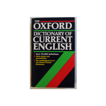 THE OXFORD DICTIONARY OF CURRENT ENGLISH by R. E. ALLEN , 1992