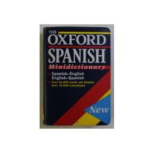 THE OXFORD SPANISH , MINIDICTIONARY , SPANISH / ENGLISH , ENGLISH / SPANISH by CHRISTINE LEA , 1993