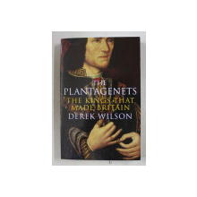 THE PLANTAGENETS - THE KINGS THAT MADE BRITAIN by DEREK WILSON , 2011