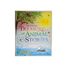 THE USBORNE TREASURY OF ANIMAL STORIES by SUSANNA DAVIDSON , ILLUSTRATED by ROCIO MARTINEZ