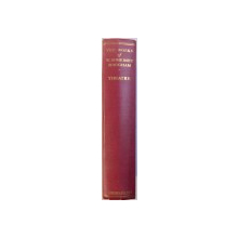 THE WORKS OF W. SOMERSET MAUGHAM  - THEATRE , 1939