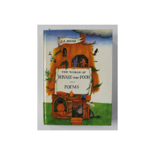 THE WORLD OF WINNIE - THE - POOH - POEMS by A.A. MILNE , 1983