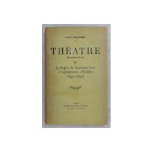 THEATRE ( PREMIERE SERIE ) TOME IV ( LE REPOS DU SEPTIEME JOUR , L ' AGAMEMNON D ' ESCHYLE , VERS D ' EXIL ) par PAUL CLAUDEL , 1931