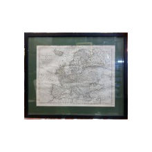 Tho's Bowen - Harta Europei, 1777