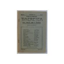 TINERETEA  - REVISTA TINERETULUI ROMAN DE PRETUTINDENI  - NUMAR DE SARBATORI , ANUL IV , NR . 9 , DECEMBRIE , 1938