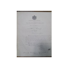 TITU MAIORESCU  SCRISOARE SEMNATA  SI DATATA 1888, IUNIE 7