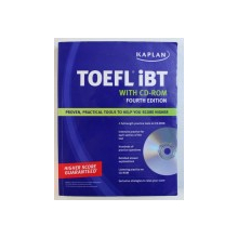 TOEFL IBT - WITH CD - ROM , FOURTH EDITION , 2009 , CONTINE CD- ROMURI