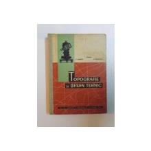 TOPOGRAFIE SI DESEN TEHNIC de I. GRAMA , P. IONESCU , M. RADULESCU , 1964