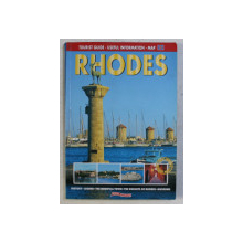 TOURIST GUIDE , USEFUL INFORMATION MAP - RHODES