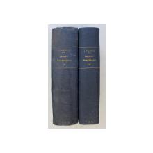 TRAITE DE CHIMIE GENERALE , ANALYTIQUE , INDUSTRIELLE ET AGRICOLE , CHIMIE INNORGANIQUE , TOMES II - III par J. PELOUZE et E. FREMY , 1861