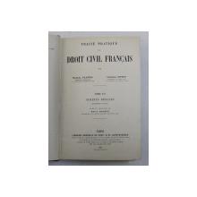 TRAITE PRATIQUE DE DROIT CIVIL FRANCAIS , SURETES REELLES , PREMIERE PARTIE , TOME XII par MARCEL PLANIOL et GEORGES RIPERT , 1927