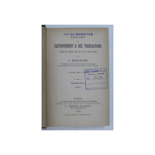TRAITES DU CAUTIONNEMENT & DES TRANSACTIONS par L. GUILLOUARD , 1895
