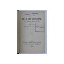 TRAITES DU PRET , DU DEPOT & DU SEQUESTRE par L. GUILLOUARD , 1893