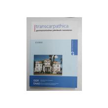 TRANSCARPATHICA , GERMANISTISCHES JAHRBUCH RUMANIEN , NUMMER 2 , herausgegeben von GEORGE CUTU und REIMAR MULLER , 2003