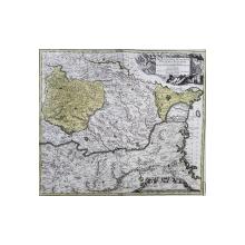 Transilvania, Moldova, Valahia, Mathias Seutter, cca. 1730