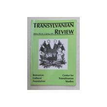 TRANSYLAVANIAN REVIEW , VOLUME VIII , SPRING , NO. 1 , 1999 , TEXT IN FRANCEZA SI ENGLEZA