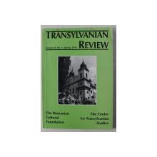 TRANSYLVANIA REVIEW , VOLUME VI , NO. 1 , SPRING , 1997
