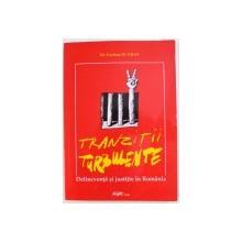 TRANZITII TURBULENTE  - DELICVENTA SI JUSTITIE IN ROMANIA de DR. GRAHAM GILES , 2002
