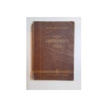 TRATAT DE CONTRAPUNCT SI FUGA de MARTIAN NEGREA , 1956 , COTORUL ESTE LIPIT CU SCOCI